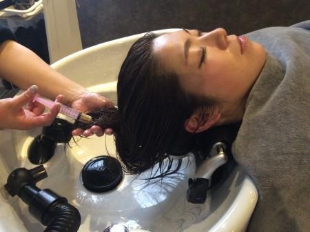 キラメラメ 毛髪内部に水分補給